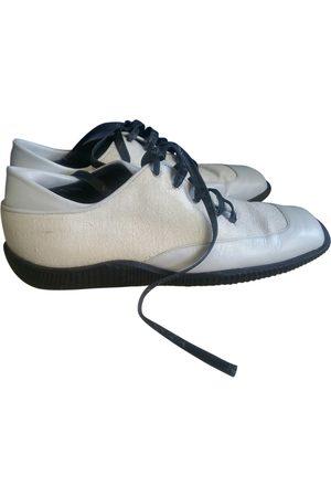 Krizia Leather trainers