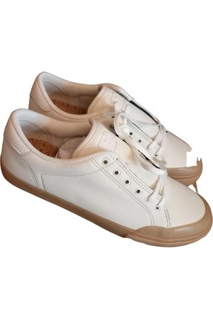 Element Leather low trainers