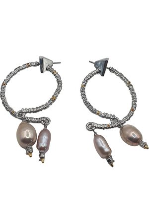 Alexis Bittar Platinum earrings