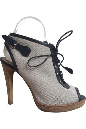 Hermès Cloth sandals