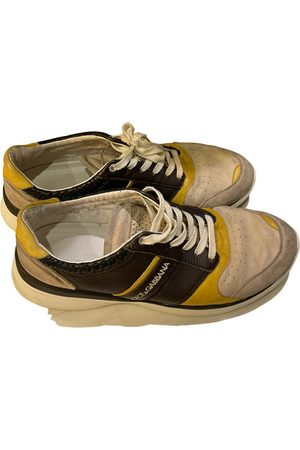 Dolce & Gabbana Leather low trainers