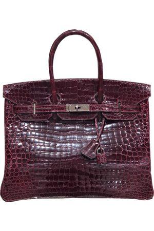 Hermès Birkin 35 crocodile handbag