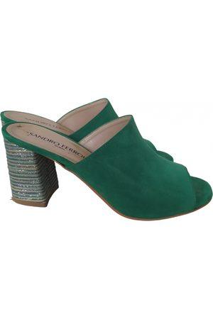 SANDRO FERRONE Leather sandals