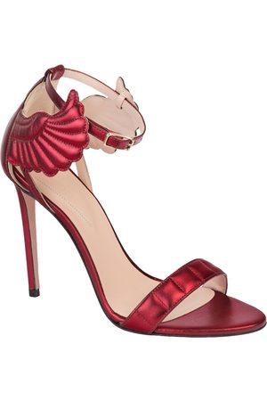 OSCAR TIYE Leather sandal