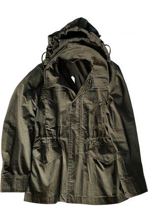 ARKET Khaki Cotton Coat