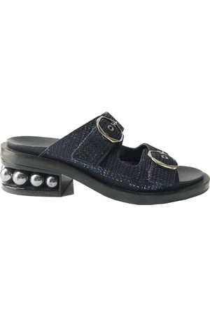 Nicholas Kirkwood Tweed sandal