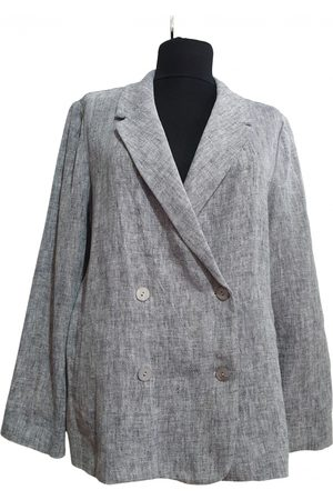 ARMAND VENTILO Linen blazer