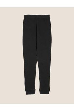 Girls Sports Leggings - Thermal Cotton Leggings (2-16 Yrs)