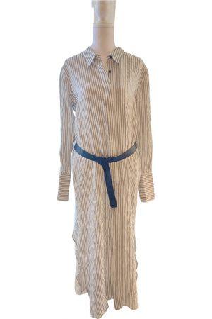 Halston Heritage Linen maxi dress