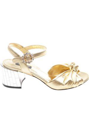 Dolce & Gabbana Leather sandals