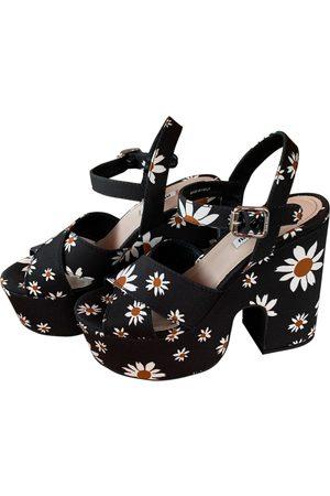 Miu Miu Women Sandals - Cloth sandals