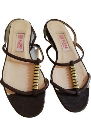Loewe Leather sandal