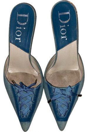 Dior Sweet-D cloth sandals