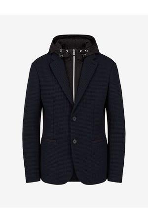 ARMANI EXCHANGE Men Blazers - Blazer Navy Polyester, Elastane