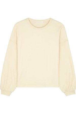 American Vintage Bobypark off- terry cotton sweatshirt