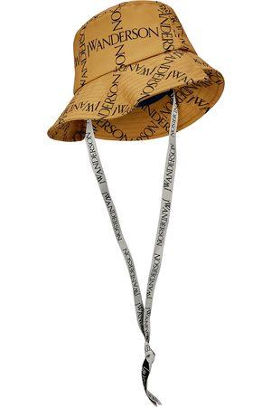 J.W.Anderson Women Hats - Logo-print twill bucket hat