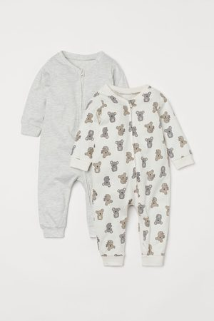 H&M Sweats - 2-pack Jumpsuits with Zip