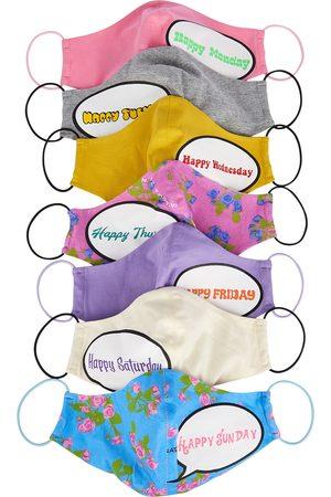 Natasha Zinko Women Accessories - Happy face masks - set of seven