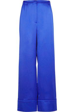 In the Mood for Love Women Wide Leg - Benoit wide-leg satin trousers