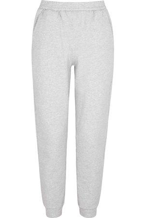 American Vintage Baetown grey mélange jersey sweatpants