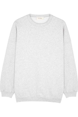 American Vintage Baetown grey mélange jersey sweatshirt