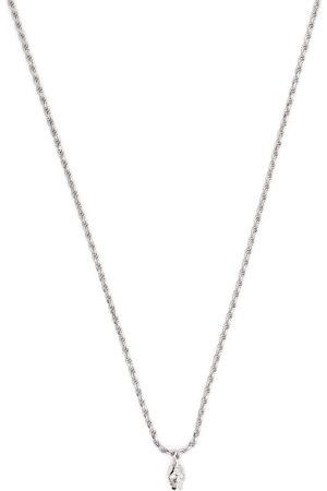 EMANUELE BICOCCHI Men Necklaces - Diamond eye skull pendant necklace