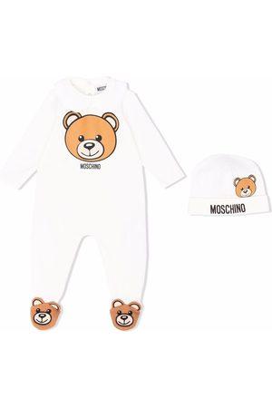Moschino Pajamas - Teddy Bear logo-print two-piece set