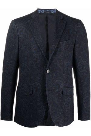 Etro Paisley-print jersey blazer