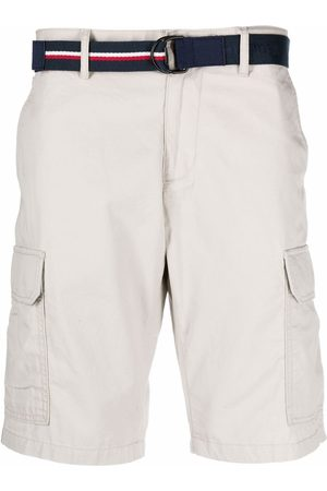 Tommy Hilfiger Belted chino shorts - Neutrals