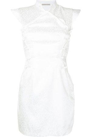 Lisa von Tang Women Party Dresses - Qi Pao brocade mini dress