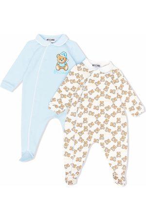 Moschino Pajamas - Teddy Bear motif 2 pack pyjamas