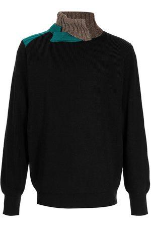 Kolor Men Turtlenecks - Ribbed roll-neck jumper