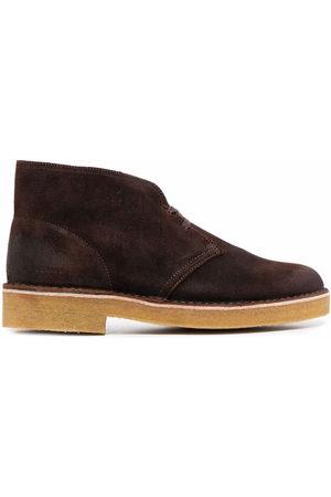 Clarks Men Lace-up Boots - Lace-up suede desert boots
