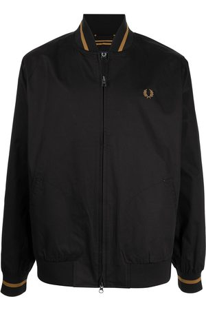 Fred Perry Men Bomber Jackets - Logo embroidered bomber jacket