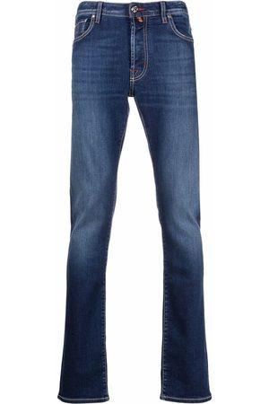 Jacob Cohen Men Straight - Straight-leg faded jeans