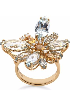 Dolce & Gabbana Women Rings - 18kt yellow Spring diamond ring