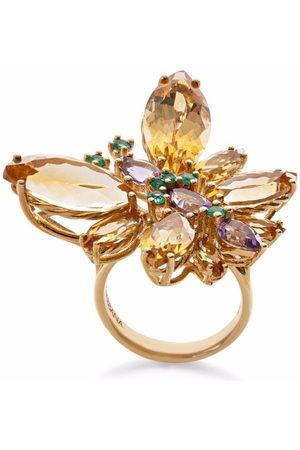 Dolce & Gabbana Women Rings - 18kt yellow Spring gemstone ring