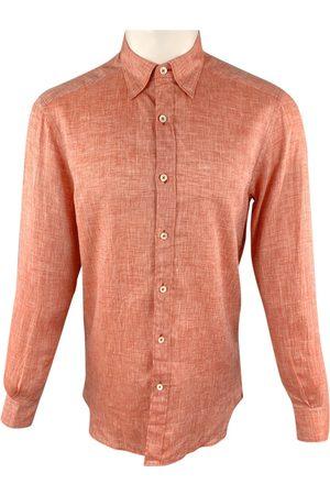 Ermenegildo Zegna Men Shirts - Linen shirt