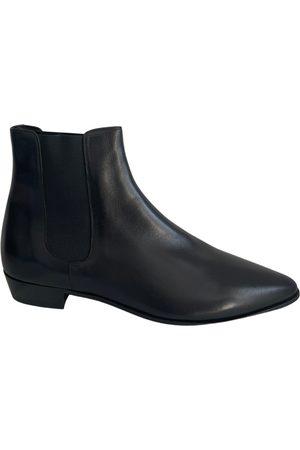 Céline Jacno leather boots