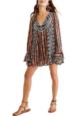 Free People Women's Fallin Into You Long Sleeve Tunic Dress