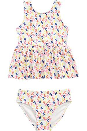 Tucker + Tate Toddler Girl's Peplum Two-Piece Tankini Swimsuit