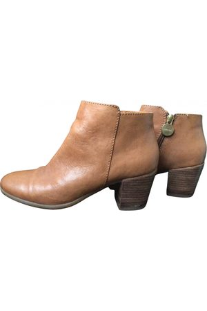 Geox Women Ankle Boots - Leather western boots