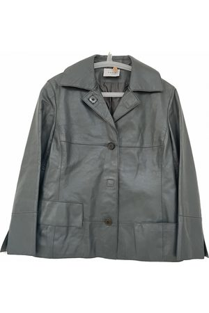 AKRIS Women Leather Jackets - Leather jacket