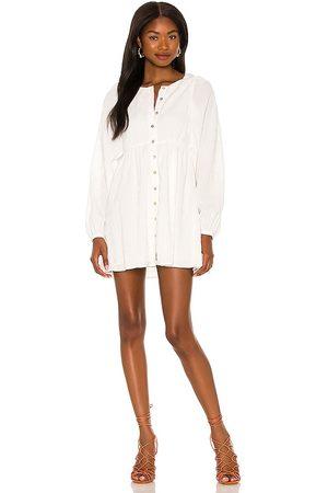 MAJORELLE Kimmie Mini Dress in White.