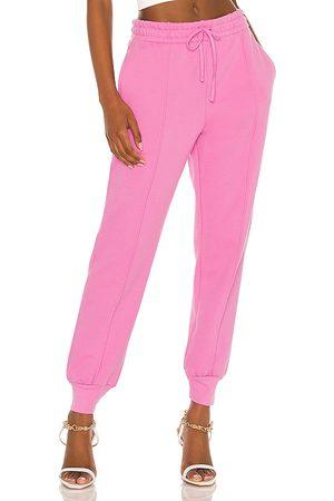 JONATHAN SIMKHAI Niya Organic Terry Trackpack in Pink.