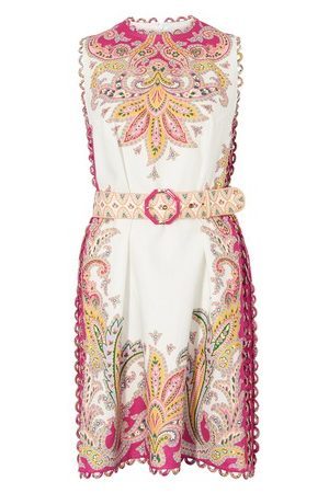 ZIMMERMANN Women Party Dresses - Teddy scallop mini dress