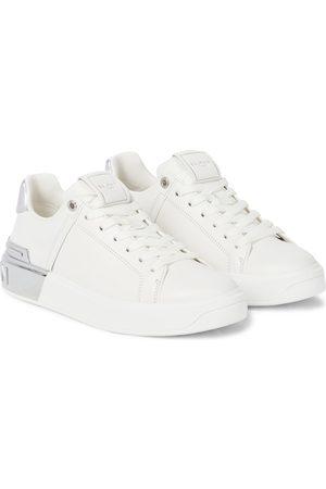Balmain Women Sports Shoes - B Bold Court leather sneakers