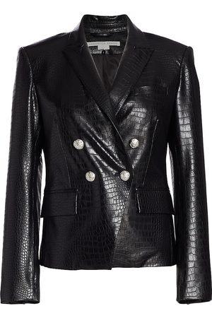 VERONICA BEARD Gail Faux Leather Jacket