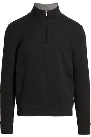 Saks Fifth Avenue Men Sweatshirts - MODERN Hookup Quarter-Zip Sweatshirt