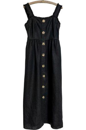 FALL WINTER SPRING SUMMER Linen maxi dress